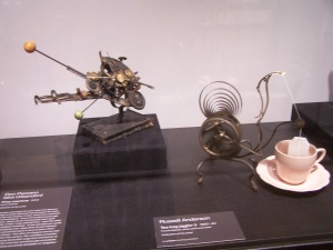 time machine and tea bag jiggler