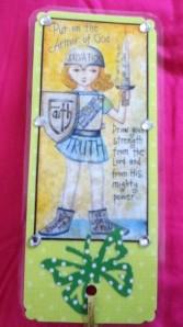 warrior bookmark